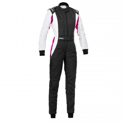 Sparco Competition Lady Race Suit Black/Pink (SIZE EU: 40)