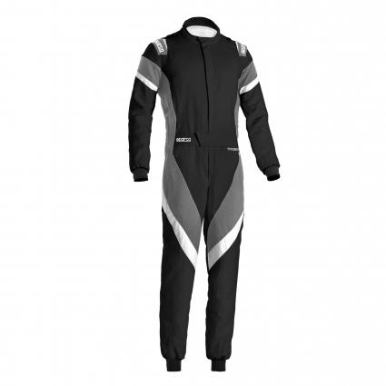 Sparco Victory Race Suit Black/Grey/White