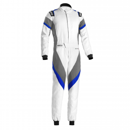 Sparco Victory Race Suit White/Blue/Grey