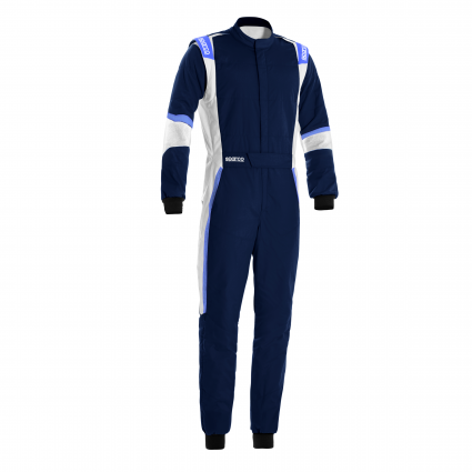 Sparco X-Light Race Suit Blue Marine/Cyan