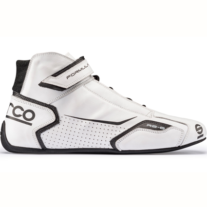 Sparco Formula RB-8 Race Boots White/Black