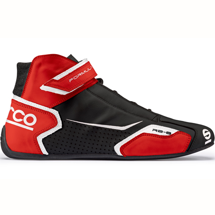 Sparco Formula RB-8 Race Boots Black/Red