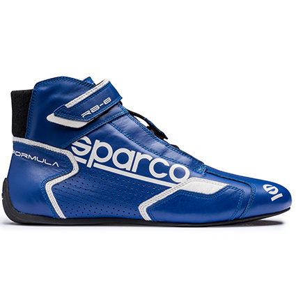 Sparco Formula RB-8.1 Race Boots Blue/White