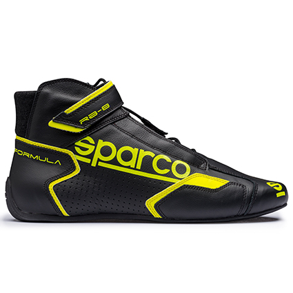 Sparco Formula RB-8.1 Race Boots Black/Yellow