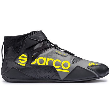 Sparco Apex RB-7 Race Boots Black/Fluo Yellow