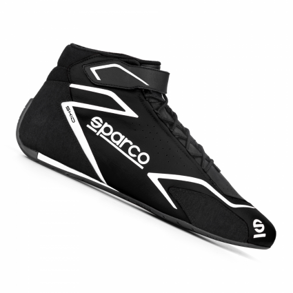 Sparco Skid Race Boots Black/White