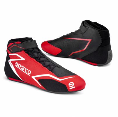 Sparco Skid Race Boots Red/Black