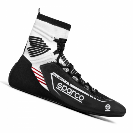 Sparco X-Light + Race Boots Black/White