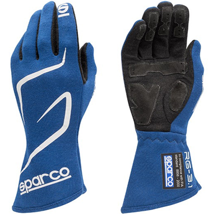 Sparco Land RG-3.1 Race Gloves Blue