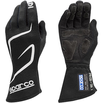 Sparco Land RG-3.1 Race Gloves Black