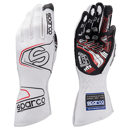 Sparco Arrow Evo RG-7 Race Gloves White