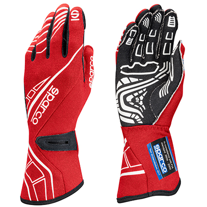 Sparco Lap RG-5 Race Gloves Red