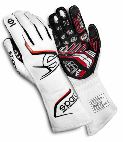 Sparco Arrow Race Gloves White/Black