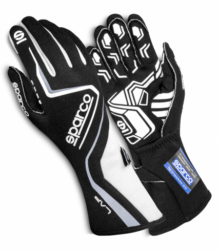 Sparco Lap Race Gloves White/Black