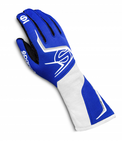 Sparco Tide Race Gloves Blue/White