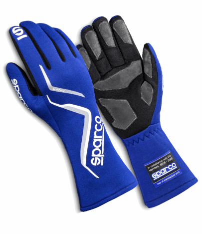 Sparco Land Race Gloves Blue