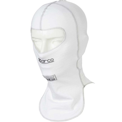 Sparco Shield RW-9 Open Face Balaclava White
