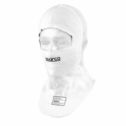 Sparco Prime + Fireproof Balaclava White