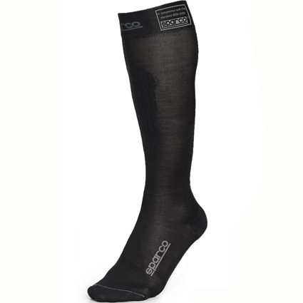 Sparco Flame Resistant Compression Socks Black
