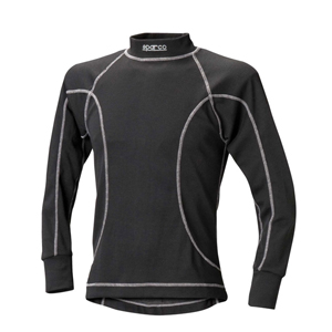 Sparco Black X-Cool Slim Fit Long Nomex Top