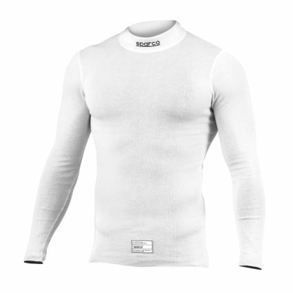 Sparco Prime + Long Sleeve Top White