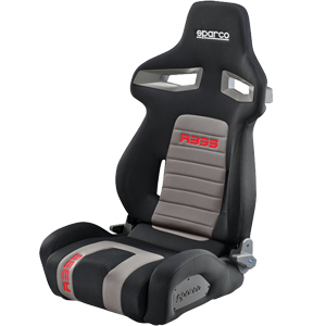 Sparco R333 Sports Recliner Seat