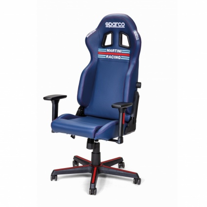 Sparco - Martini Racing Icon Vinyl Gaming / Office Chair