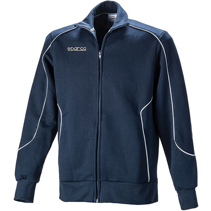 Sparco Classic Full Zip Fleece Navy