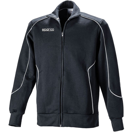 Sparco Classic Full Zip Fleece Black