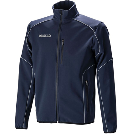 Sparco Softshell Jacket Navy