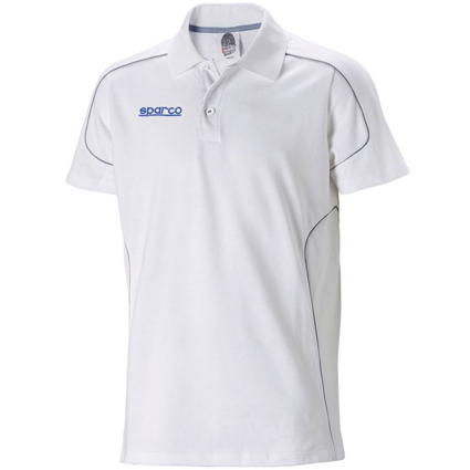 Sparco Team Polo Shirt White