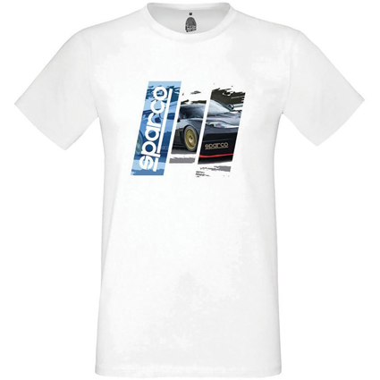 Sparco Track Tee Shirt White