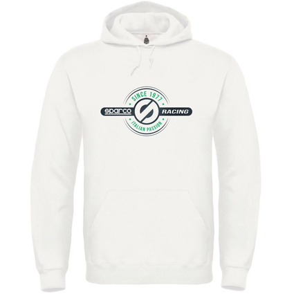 Sparco Since 1977 Hoody White