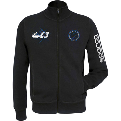 Sparco 40th Anniversary Fleece Black