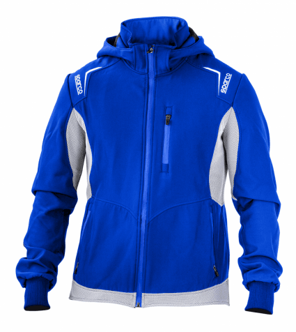 Sparco 2020 Softshell Jacket Blue