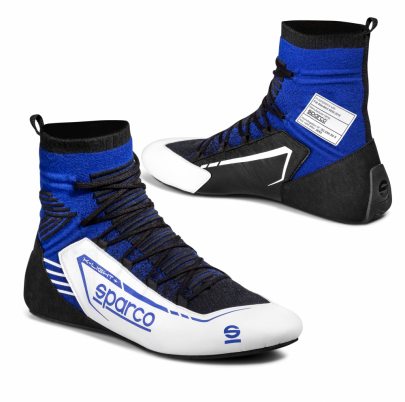 Sparco X-Light + Race Boots White/Blue