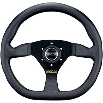 Sparco Ring L360 Steering Wheel Black Leather