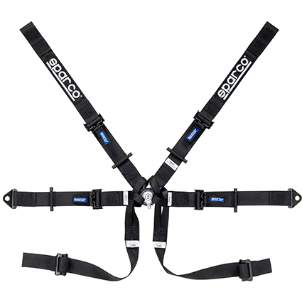 Sparco 6 Point Single Seater Harness