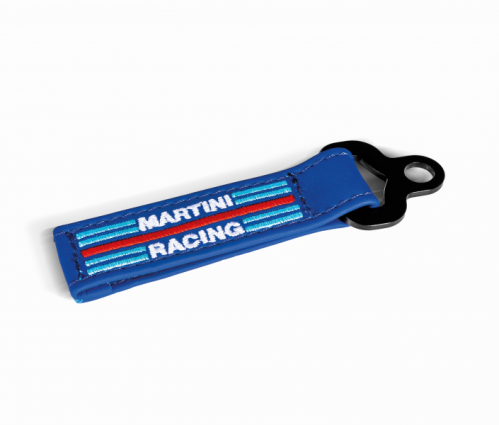 Sparco Martini Leather Key Fob