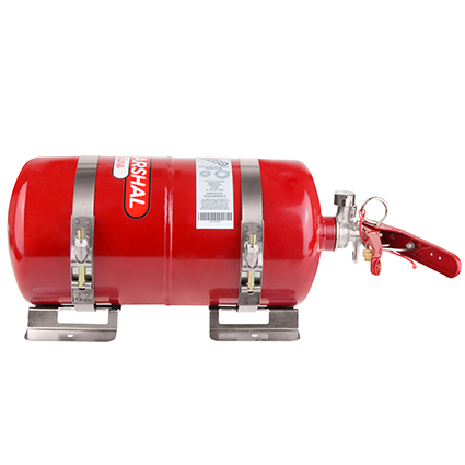Lifeline 4.0ltr Fire Marshall Mechanical Kit Steel Bottle