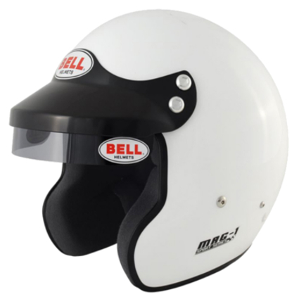 Bell Mag 1 Open Face Helmet White