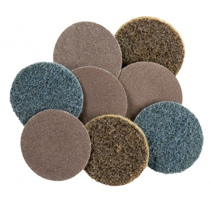Motamec 50mm Quick-Change Sanding Discs Accesory Pack For Mini Sander