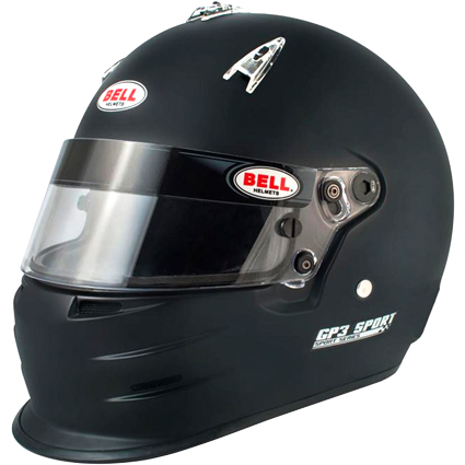 Bell GP3 Sport Full Face Helmet Matte Black