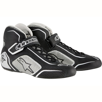 Alpinestars Tech 1-T Race Boots Black/Silver
