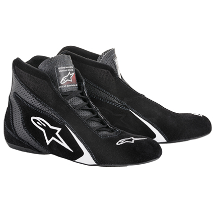 Alpinestars SP Race Boots Black/White
