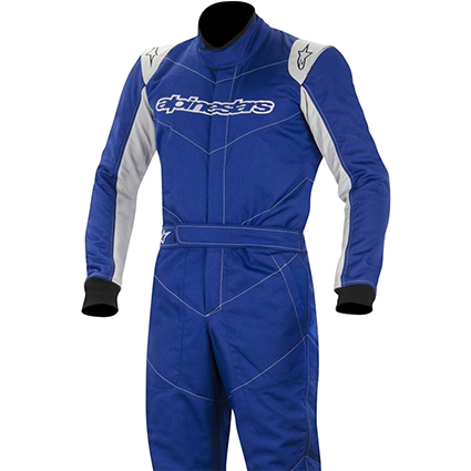 Alpinestars GP Start Race Suit Blue/Silver