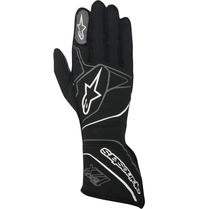 Alpinestars Tech 1-ZX Race Gloves Black White