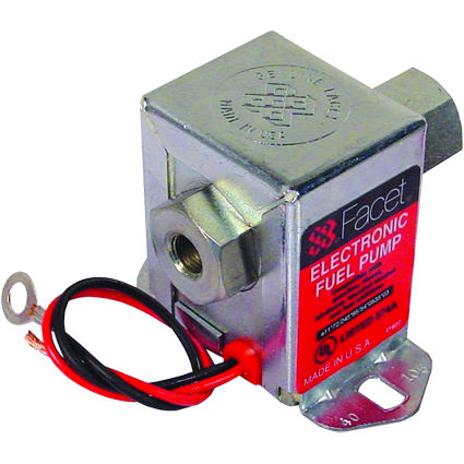 Facet 40105 Mild Road Cube Fuel Pump 3.0-4.5psi