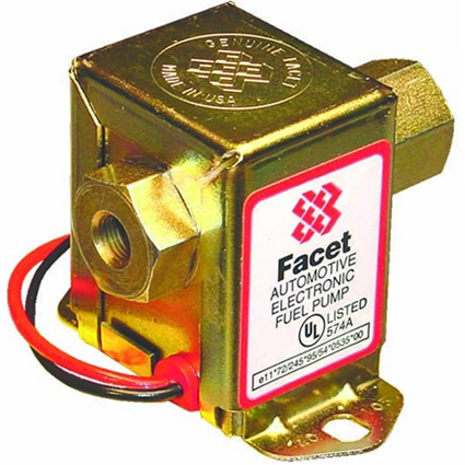 Facet 40107 Competition Cube Fuel Pump 7.0-10.0psi