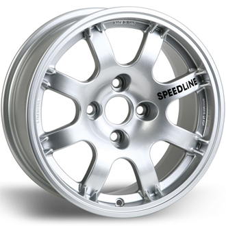Speedline 434 Gp.A Silver Aluminium Wheel